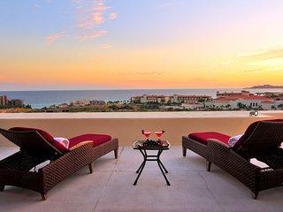 Breathtaking Oceanview, Private pool & Beach Club. Puerto Los Cabos Golf course