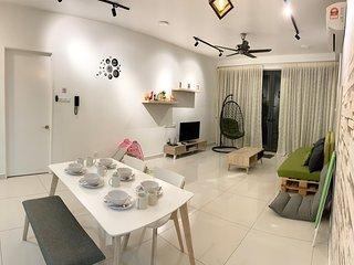 Penang Family Cozy Home ArteS 3BR