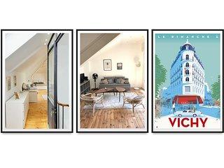 Loft design, tt confort, centre ville,  terrasse