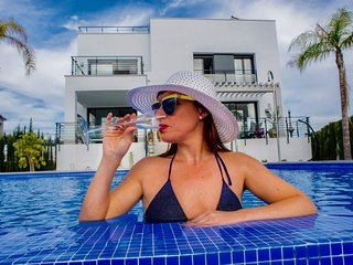 Golf, Sun&Relax! Luxury Brand new Villa in celebrity location! Infinity Pool