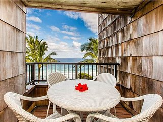 Gorgeous views! Updated inside!  Pool, BBQ, free parking, wifi, private lanai