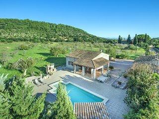 Bonita Villa Gaballi con Piscina Privada y Excelentes Vistas