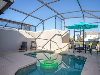 Luxurious 5 Bedroom w/ Pool Close to Disney 9017 *ChampionsGateResort