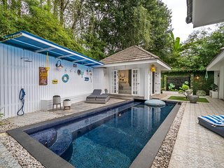 Modern private pool villa 500 meters to Layan beach