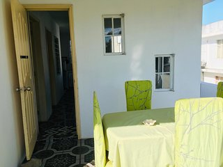 Small house on the first floor 10 minutes from Mont Chosy beach
