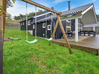 Stunning home in Knebel w/ Sauna and 3 Bedrooms