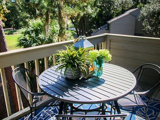 Updated Sea Pines Harbour Town Racquet Club Villa!
