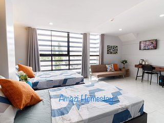 Amazi Homestay-Family RM City View+Near Mall+27mbps