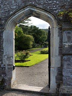 Treberfydd House gardens