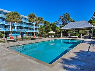 Renovated Seagrove Beach Studio w/ Heated Pool!