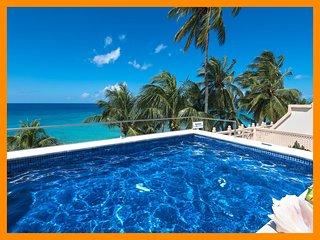 Reeds House 1 - Penthouse, beachfront, splash pool
