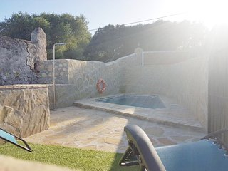 Villa private pool stone house 2