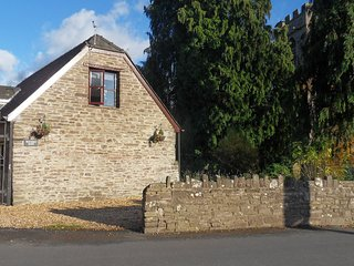 Penybont Barn, a cosy riverside barn conversion in Llangorse, Brecon Beacons, UK