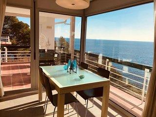 Cala Salionç Playa - Apartamento frente al mar, en primera linea de playa
