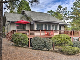 NEW! Tranquil Pinehurst Haven w/ Golf Course View!