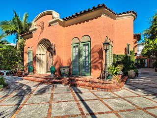 NEW! 1920's Mediterranean Home w/ Courtyard + View