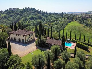 Villa Cerretello 22 - Tuscan farmhouse with pool in Montaione