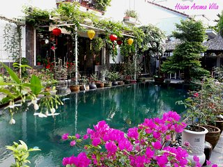 Hoian Aroma Villa - Magnolia room, Romantic room with balcony and pool view