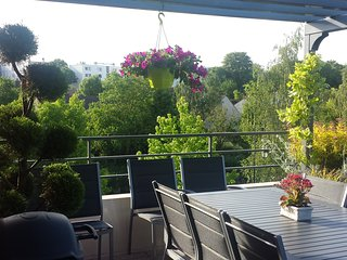 Agreable 3 pieces avec grande terrasse proche Roissy aeroport, Disney, Paris