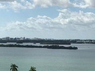 2 Bedroom Luxury Apartment with Bay and Miami skyline view