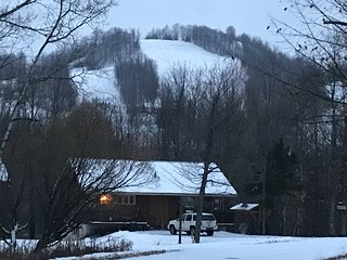 Cabin Fevers (#2) at Big Powderhorn Mountain with HOT TUB, SAUNA, & FIREPLACE