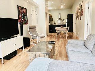 Bel appartement moderne tout equipe 2 ch bien situe