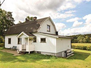 Awesome home in Mårdaklev w/ Sauna, WiFi and 3 Bedrooms (S50177)