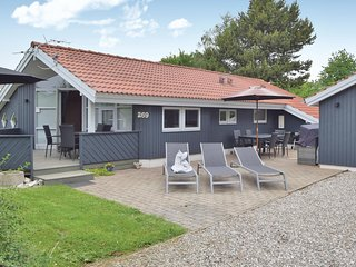 Stunning home in Juelsminde w/ Sauna, WiFi and 3 Bedrooms (D3074)
