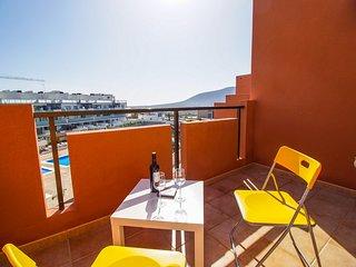 Cozy apartment with two terraces in La Tejita