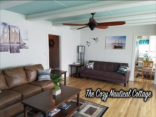 Cozy Nautical Cottage - Near Olympic National Park & Historic Port Angeles WA