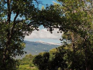Mas provencal au pied du Mont Ventoux