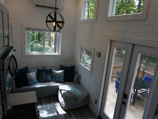 The Lux- as in luxury.  A Tiny House at A Tiny House Resort