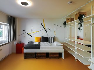 Designer hostel room for 4 (2D)