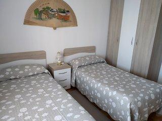 Dos camas de 0,90 cm,