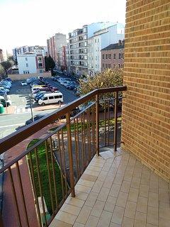 Una de las terrazas
