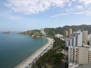 Apartamento frente al mar con vista al mar