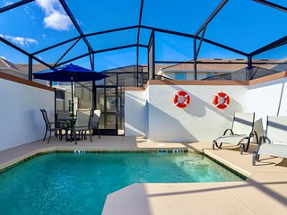 Marvelous 5 Bedroom w/ Pool Close to Disney 4811