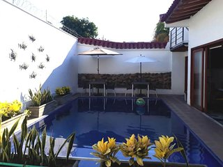 Private room for up to 7 people with pool
