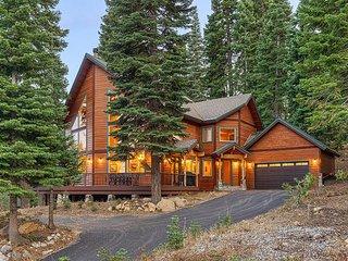 Elegant Alpine Retreat | Chef's Kitchen & Fireplaces | Tahoe Donner Amenities