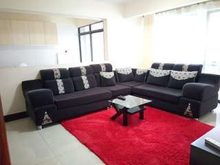 Elegant two bed rooms apartment with quality living at Kileleshwa Gatundu road.