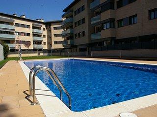 Puerto Rico 39. Apartamento con terraza salida directa a piscina, A.A. y parking