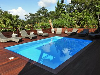 VILLA KYO,5 chambres , proche Jardin Botanique, Vue Mer et Forêt