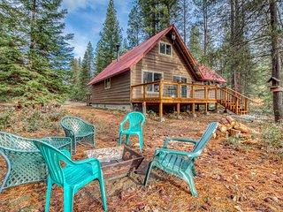 Dog-friendly cabin w/ great deck & seasonal firepit - near Chiwawa River