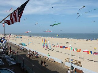 Ocean City Boardwalk Suites N2 - Oceanfront on Boardwalk!