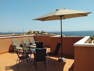 MH11-2 Bed Villa Mojon Hills, near beach, registered with Murcia Tourist Board