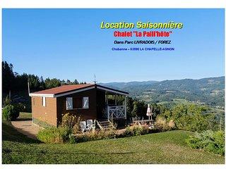 Chalet 'La Paill'hote' dans Parc Livradois/Forez