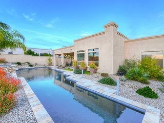 Semi-custom home w/ a private pool & hot tub, beautiful views!