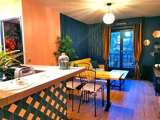 Appartement de decorateur - Les Damoiseaux - Vue mer