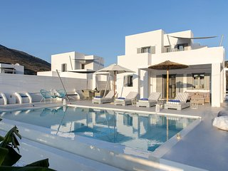 Elitas Villa A with 2 br and private pool close to Parikia