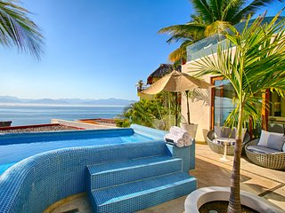 Beautiful beach front property , luxury layout with stunning views, private pool